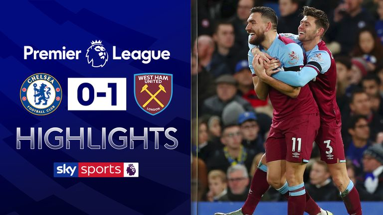 FREE TO WATCH: Highlights from West Ham's win over Chelsea in the Premier League