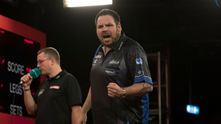 Adrian Lewis is heading to the Grand Slam for the first time in three years