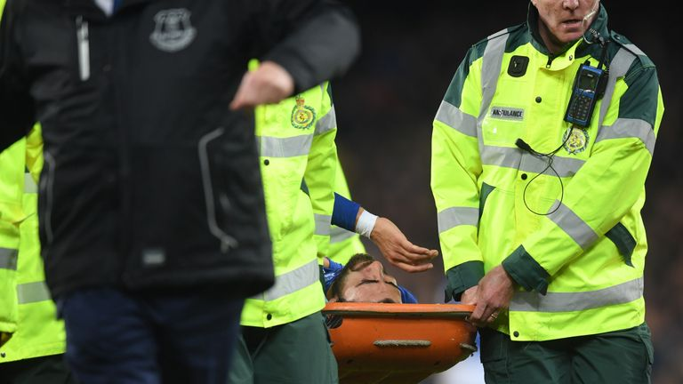 Andre Gomes suffered a fracture dislocation to his right ankle during Sunday's draw with Tottenham