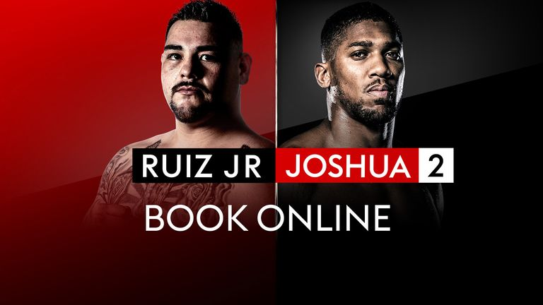 Andy Ruiz Jr, Anthony Joshua