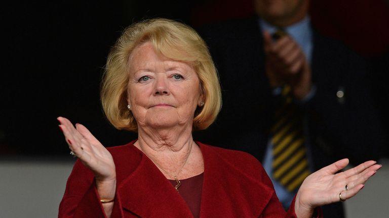 Hearts chief executive Ann Budge