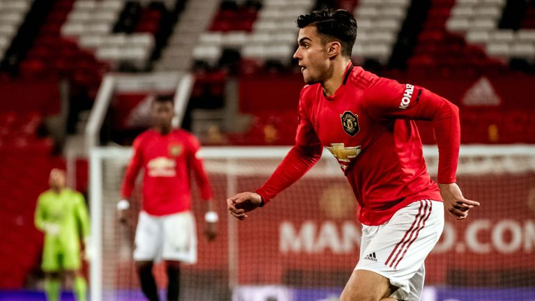 Manchester United youngster Arnau Puigmal