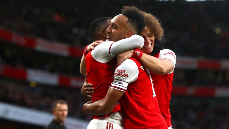 Pierre-Emerick Aubameyang has been named Arsenal captain