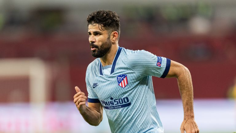 Atletico's Costa suffers slipped disc