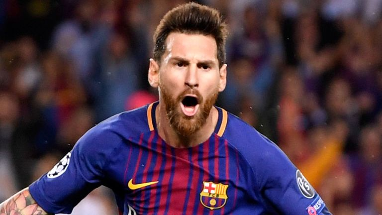 Lionel Messi has a contract at Barcelona until  2021.