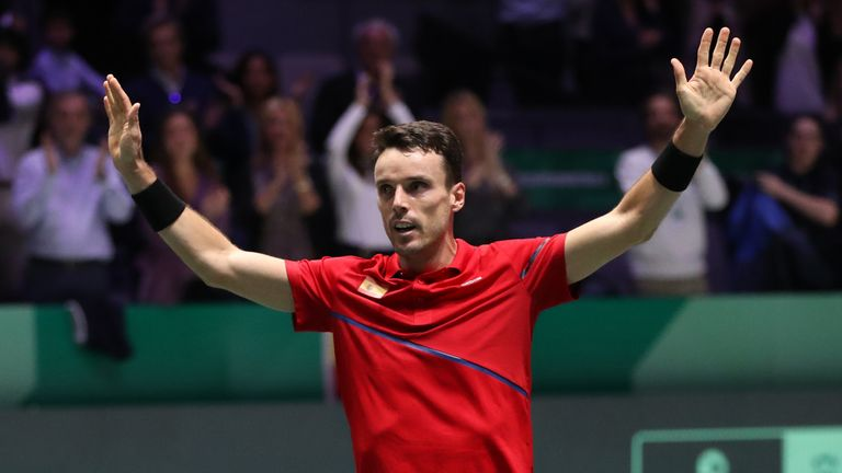 Bautista Agut showed tremendous courage to help Spain to their sixth Davis Cup triumph