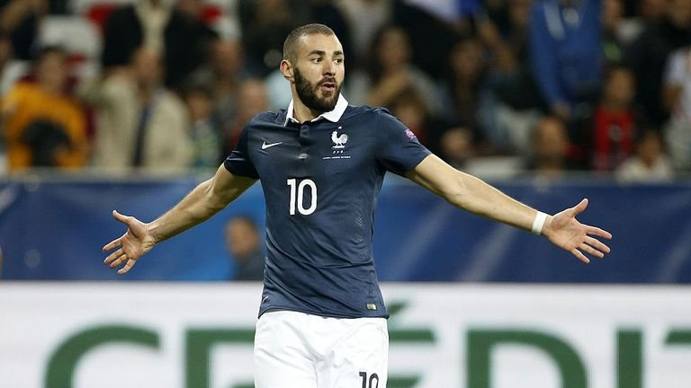 Benzema last featured for France against Armenia in October 2015