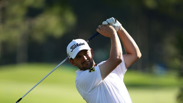 Wiesberger will play alongside Matt Fitzpatrick and defending champion Lee Westwood for the opening round