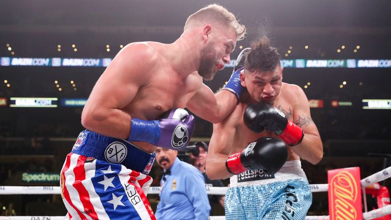 Billy Joe Saunders handed Marcelo Coceres his first defeat in 30 fights