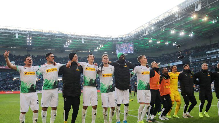 Borussia Monchengladbach are top of the Bundesliga