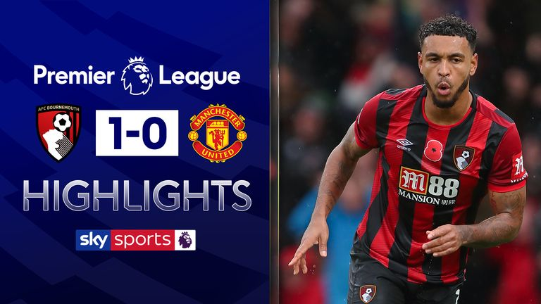Bournemouth vs Manchester United highlights