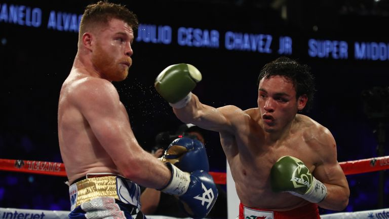 Chavez Jr also lost a unanimous decision to Canelo in Las Vegas