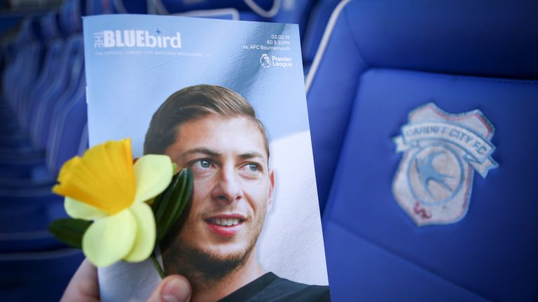 Sala had just signed for Cardiff City and was returning to Wales to start training when his plane went missing