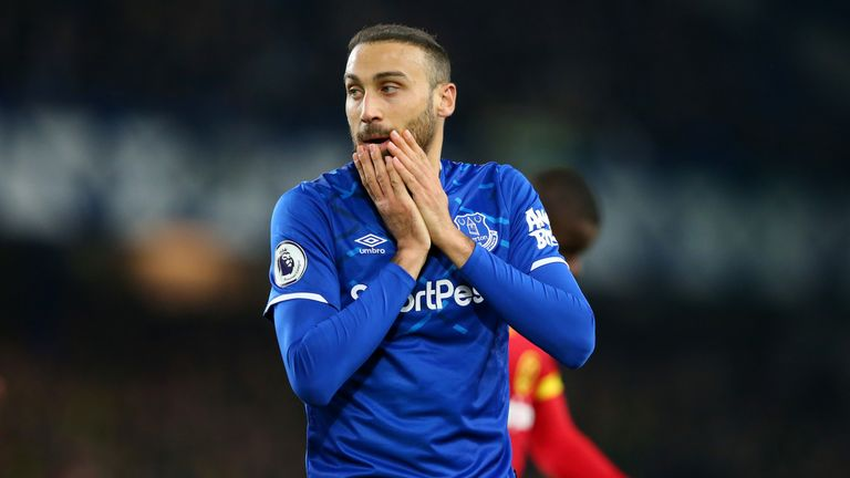 Cenk Tosun has so far failed to justify the £27m spent on him in January 2018