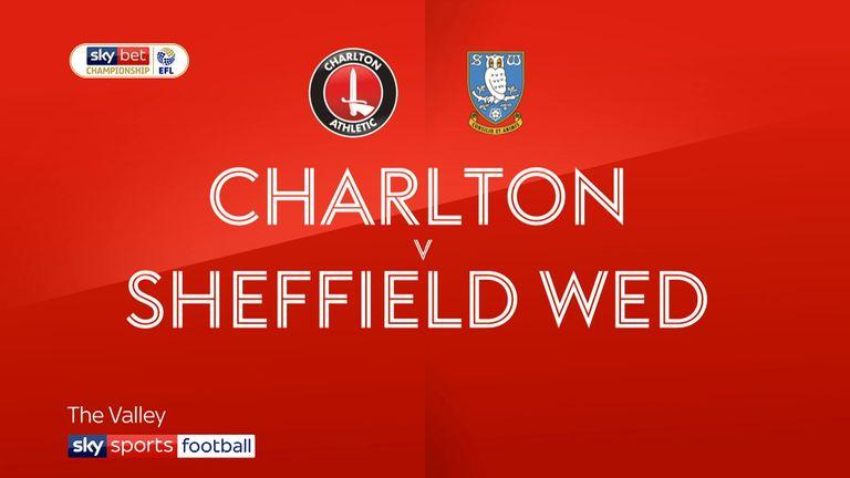 Charlton v Sheffield Wednesday