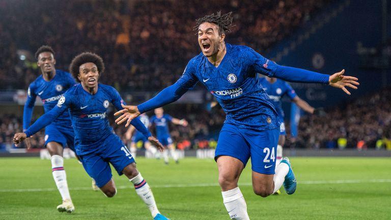 Reece James becomes Chelsea's youngest Champions League goalscorer