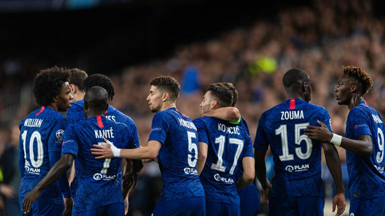 Chelsea Player Ratings Against Valencia Kovacic And James Shine But Jorginho Struggles Football News Sky Sports
