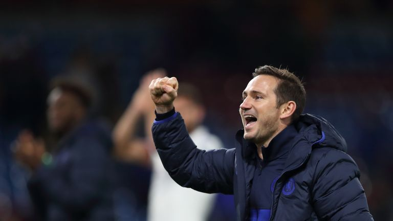 Chelsea under Frank Lampard won all three league matches in October