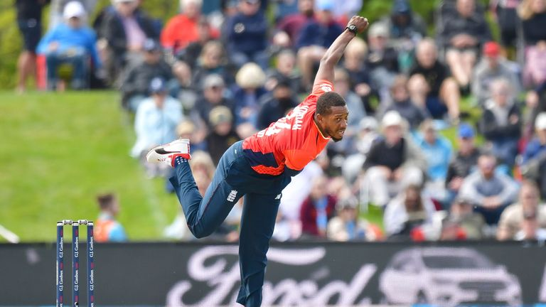 Chris Jordan claimed two wickets in Friday's match