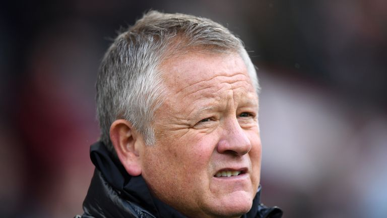 Chris Wilder has no issues with facing Heung-Min Son at the weekend