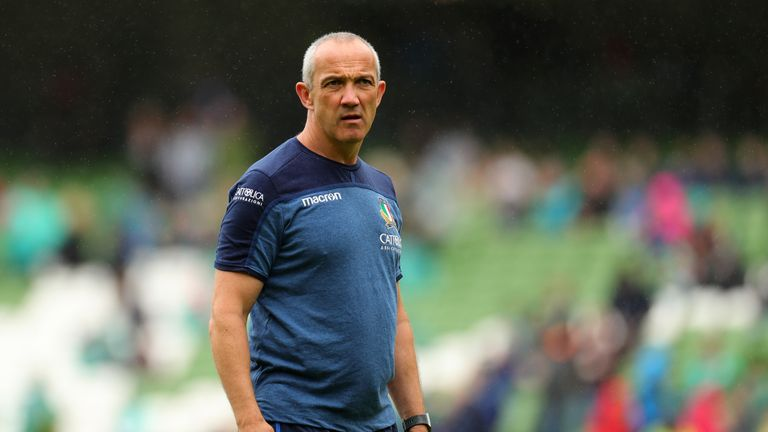 Conor O'Shea: Former Italy coach to replace Nigel Melville at RFU