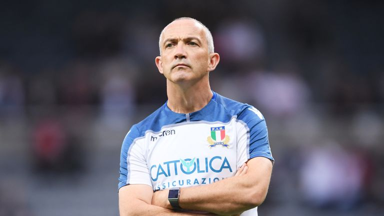 Conor O'Shea recently resigned from his post with Italy