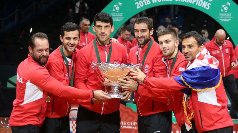 Croatia won the Davis Cup in 2018