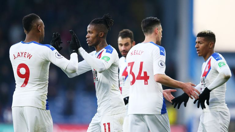 Crystal Palace host Bournemouth on Tuesday