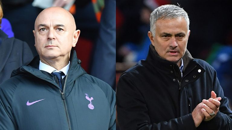 Daniel Levy has appointed Jose Mourinho as Tottenham manager