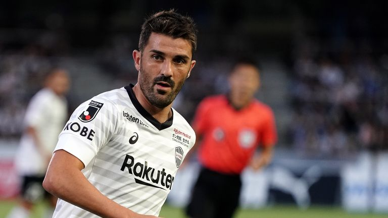 Spanish star striker Villa retires from football