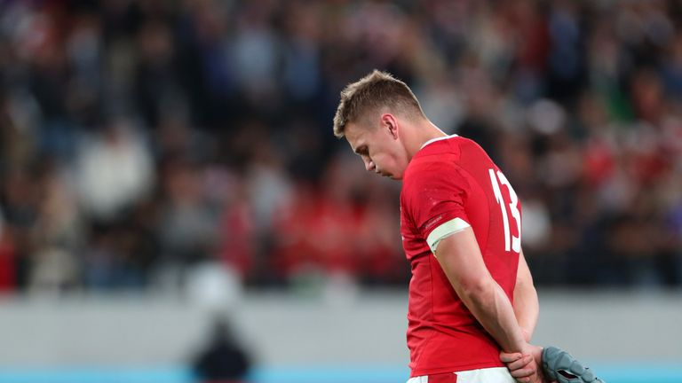 Wales' players were extremely disappointed afterwards - but it was a very tough assignment for them