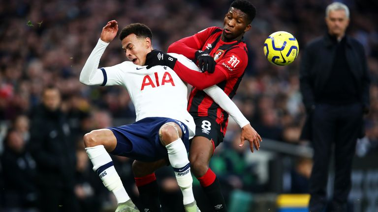 Dele Alli's good form continued against Bournemouth on Saturday