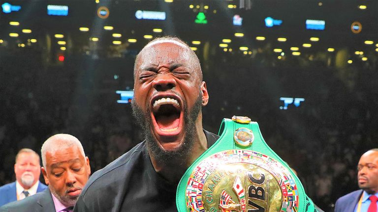 Deontay Wilder has held the WBC title since 2015
