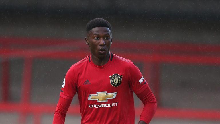 Manchester United youngster Di'shon Bernard