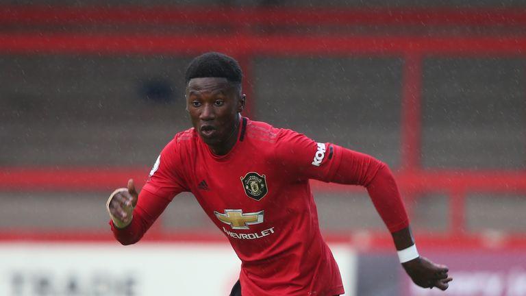 Di'Shon Bernard will make his senior debut for Manchester United against Astana