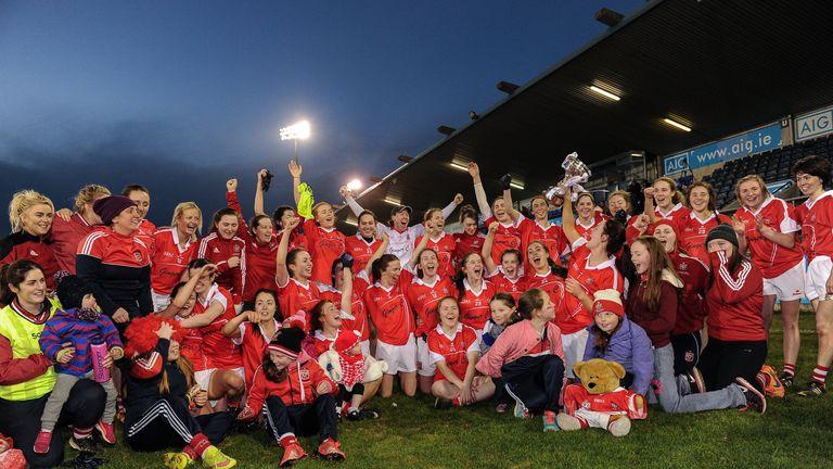 Donaghmoyne celebrate their 2016 All-Ireland final win over Foxrock Cabinteely