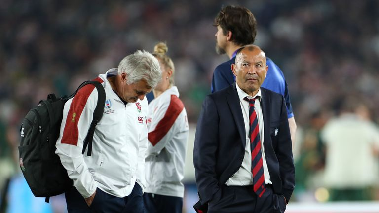 Eddie Jones guided England to the Rugby World Cup final in Japan