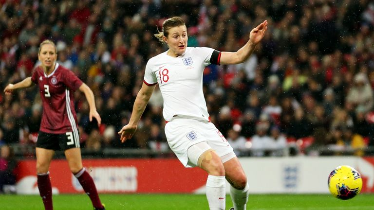 White was back in scoring form for England at Wembley