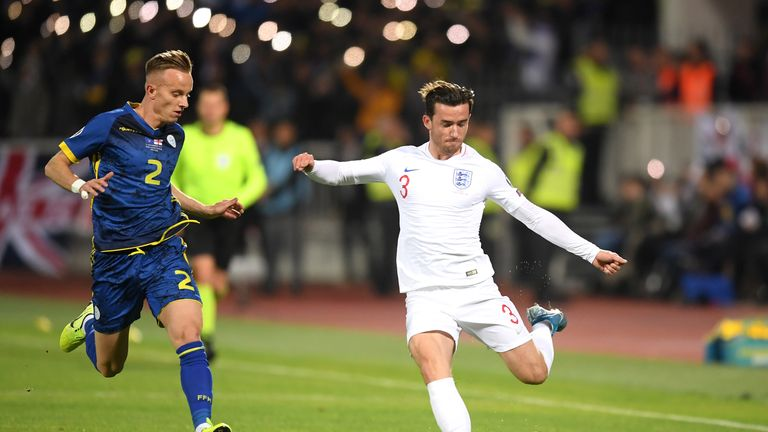 Ben Chilwell impressed again for England