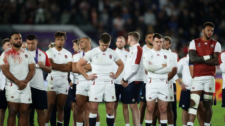 England's 2019 squad were unable to follow the 2003 squad as World Cup winners