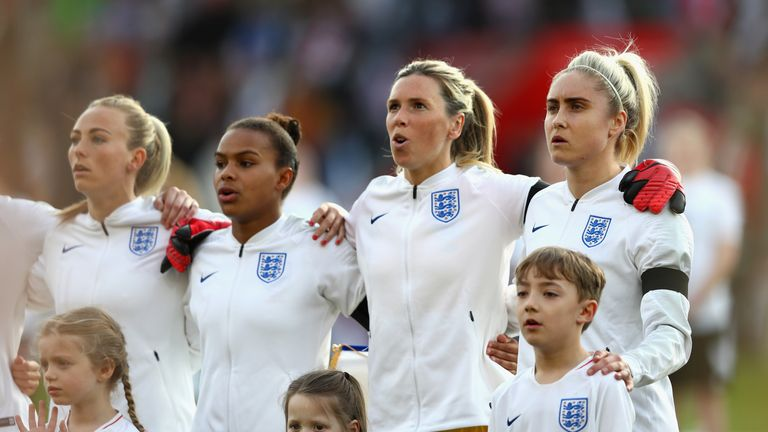 England Women will be playing in front of 90,000 people at Wembley on Saturday
