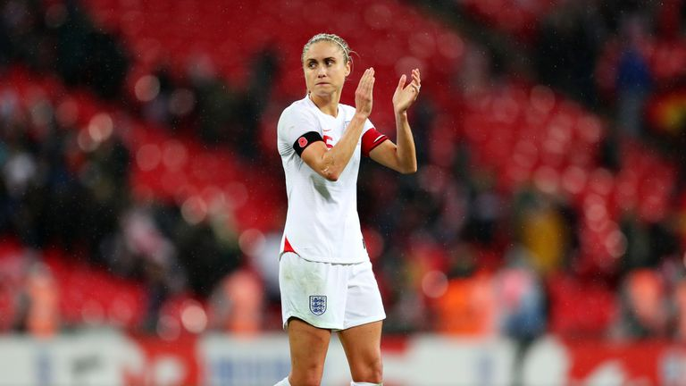 Steph Houghton says her team must share responsibility for England's defeat to Germany
