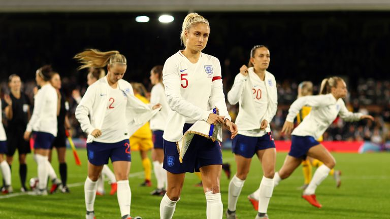 England Women's captain Steph Houghton has been rested for the forthcoming game against the Czech Republic.