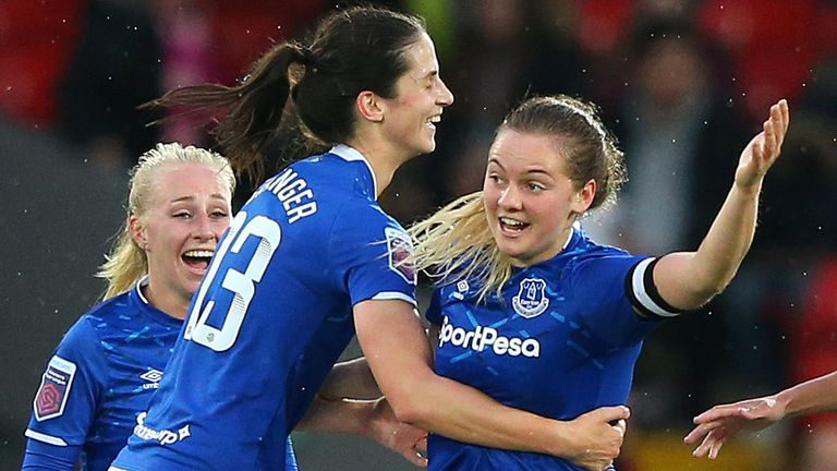 Everton Women To Play Liverpool At Goodison Park Next Month Football News Sky Sports