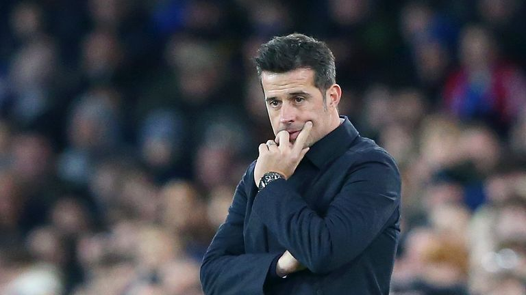 "Marco Silva said his Everton side were ""afraid"" against Norwich"