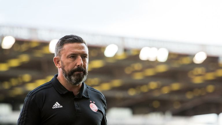 Derek McInnes will enjoy the benefits of working with his squad at the new training ground