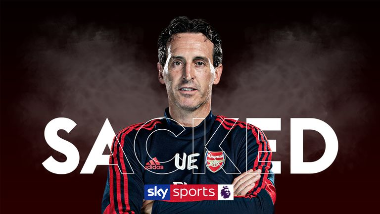 Unai Emery sacked