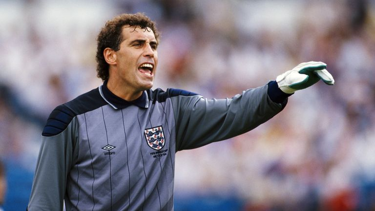 Former England goalkeeper Peter Shilton currently holds the record for most appearances (125), as England play their 1000th game against Montenegro on Thursday.