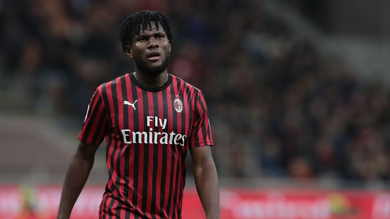 Monaco and Wolves are both interested in AC Milan's Franck Kessie