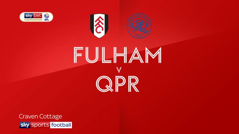 Fulham v QPR badge